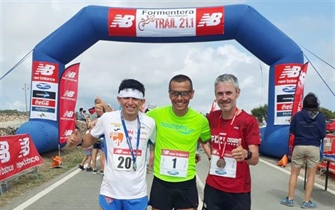 William Aveiro logra el bronce en la Formentera Trail 21.1
