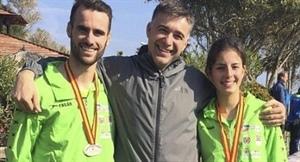 Óscar Santos, José Alborch y Andrea Romero.