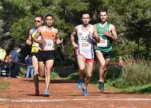 El carrera Guirado, Bourass, Añibarro y Santos.