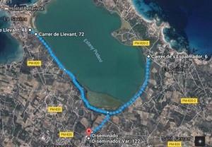 Circuito de la carrera de 10 kilómetros.
