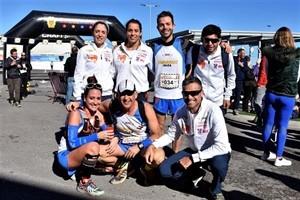 Algunos corredores del Club Atletismo Ibiza.