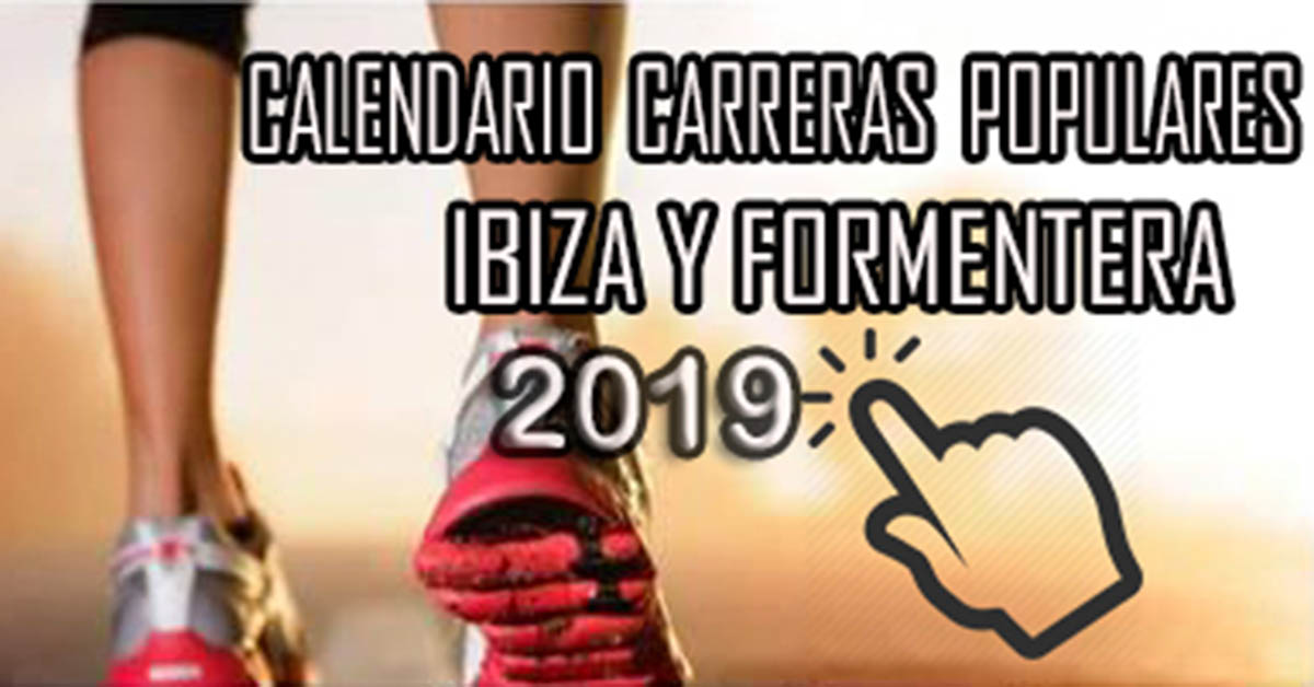 Calendario For Mens 2020.Calendario De Carreras Populares 2019
